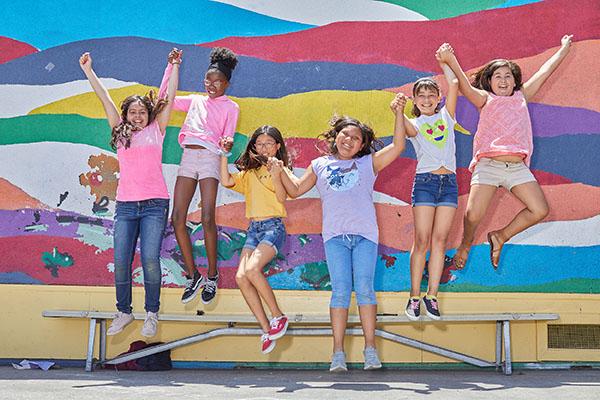 CWC girls jumping